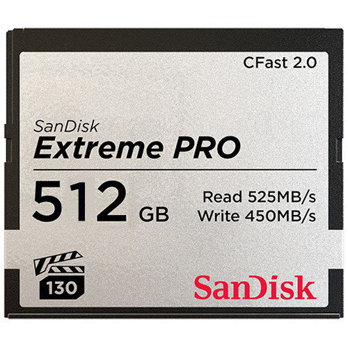 ARRI Edition 512 GB Extreme PRO CFast 2.0 Card